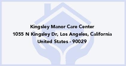 Kingsley Manor Care Center