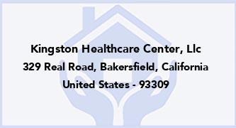 Kingston Healthcare Center, Llc