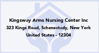 Kingsway Arms Nursing Center Inc