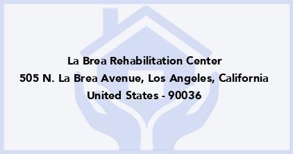 La Brea Rehabilitation Center