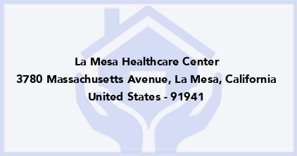 La Mesa Healthcare Center