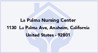 La Palma Nursing Center