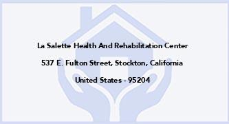 La Salette Health And Rehabilitation Center