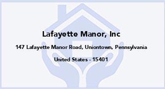 Lafayette Manor, Inc