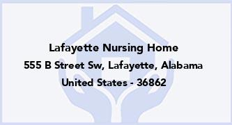 Lafayette Nursing Home