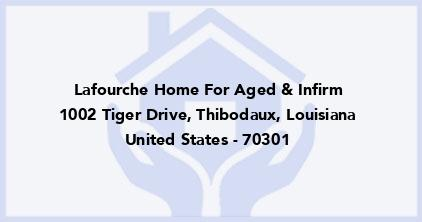 Lafourche Home For Aged & Infirm