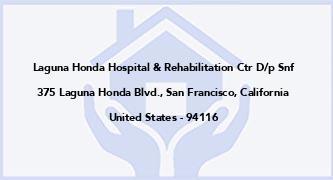 Laguna Honda Hospital & Rehabilitation Ctr D/P Snf