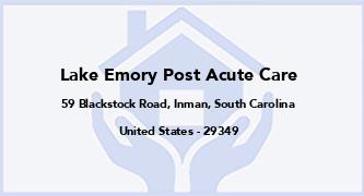 Lake Emory Post Acute Care