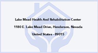 Lake Mead Health And Rehabilitation Center