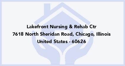 Lakefront Nursing & Rehab Ctr