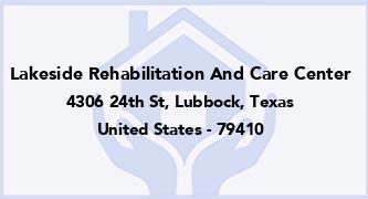 Lakeside Rehabilitation And Care Center