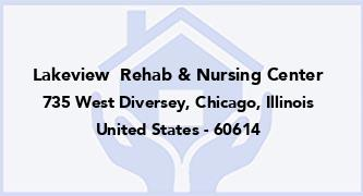 Lakeview  Rehab & Nursing Center