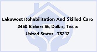 Lakewest Rehabilitation And Skilled Care