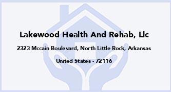 Lakewood Health And Rehab, Llc