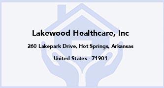 Lakewood Healthcare, Inc