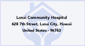 Lanai Community Hospital