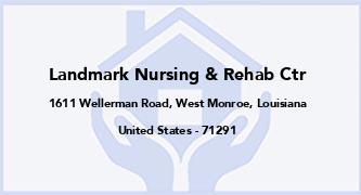 Landmark Nursing & Rehab Ctr