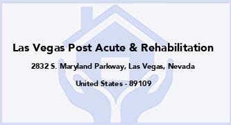 Las Vegas Post Acute & Rehabilitation