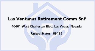 Las Ventanas Retirement Comm Snf