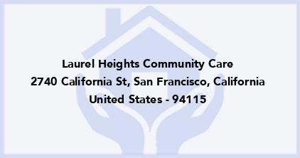 Laurel Heights Community Care