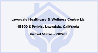 Lawndale Healthcare & Wellness Centre Llc