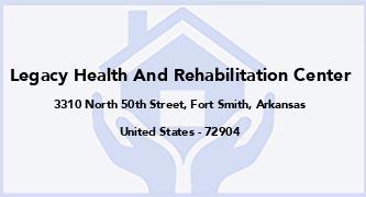 Legacy Health And Rehabilitation Center