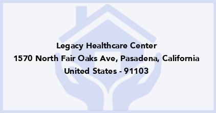 Legacy Healthcare Center