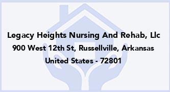 Legacy Heights Nursing And Rehab, Llc