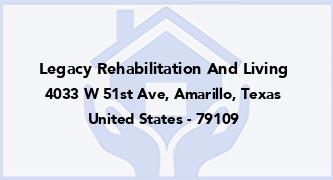 Legacy Rehabilitation And Living