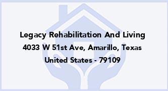 Legacy Rehabilitation And Living