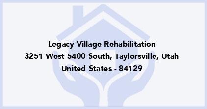Legacy Village Rehabilitation