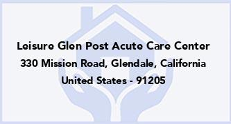 Leisure Glen Post Acute Care Center