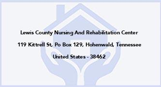 Lewis County Nursing And Rehabilitation Center