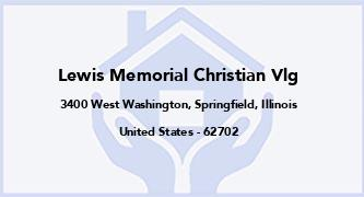 Lewis Memorial Christian Vlg