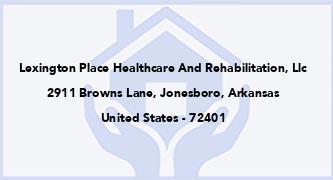 Lexington Place Healthcare And Rehabilitation, Llc