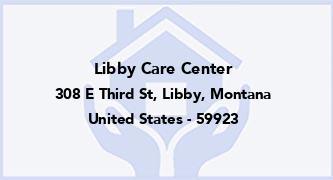 Libby Care Center