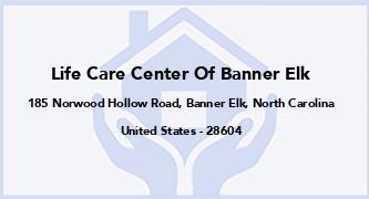 Life Care Center Of Banner Elk