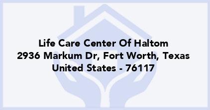 Life Care Center Of Haltom