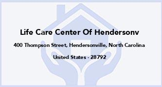 Life Care Center Of Hendersonv