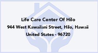 Life Care Center Of Hilo