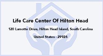 Life Care Center Of Hilton Head