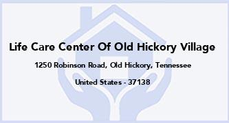 Life Care Center Of Old Hickory Village