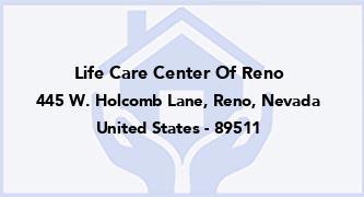 Life Care Center Of Reno