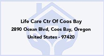 Life Care Ctr Of Coos Bay