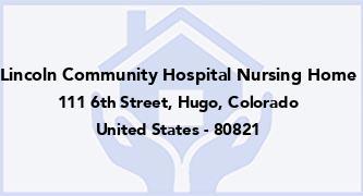 Lincoln Community Hospital Nursing Home