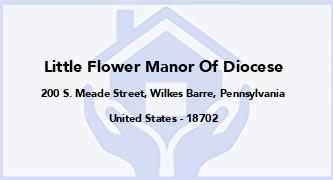 Little Flower Manor Of Diocese