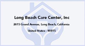 Long Beach Care Center, Inc