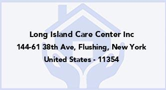 Long Island Care Center Inc
