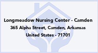Longmeadow Nursing Center - Camden