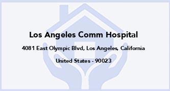 Los Angeles Comm Hospital